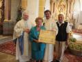 Päpstlicher Segen für Maria Wallner